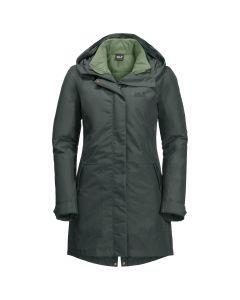 Jack Wolfskin Monterey Bay Coat - 3i1 Damefrakke