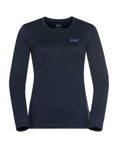 Jack Wolfskin Sky Thermal LS T-Shirt - Dame (Jack Wolfskin)