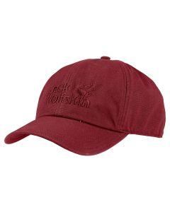 Red Maroon Jack Wolfskin Baseball Cap