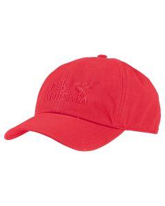 Tulip Red Jack Wolfskin Baseball Cap