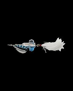 DAM Rattlin Spinner - Silver/Blue