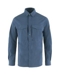 Uncle Blue Fjällräven Abisko Trekking Shirt LS Men - Herreskjorte m/lange ærmer (Fjällräven)