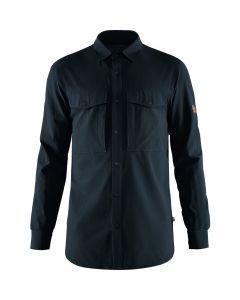Fjällräven Abisko Trekking Shirt LS Men - Herreskjorte m/lange ærmer (Fjällräven)