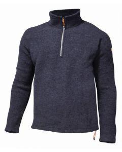 Ivanhoe Brodal Uld Pullover m/zip - Herre (Ivanhoe Of Sweden)
