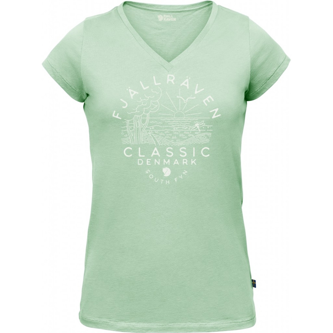 Fjällräven Classic DK T Shirt Dame