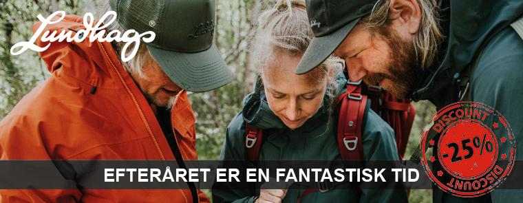 Lundhags tøj, udstyr & rygsække hos OUTDOORXPERTEN.dk