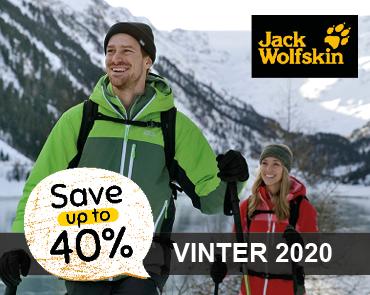 Jack Wolfskin beklædning, rygsække & sko hos OUTDOORXPERTEN.dk