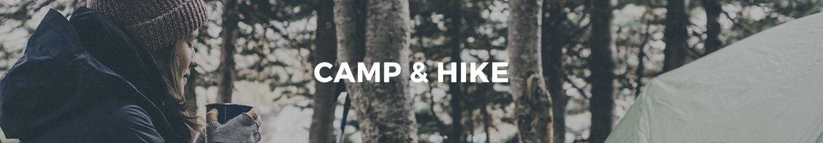 Gear til Camp & Hike